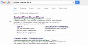 Google Keyword Planner | Ompact.my