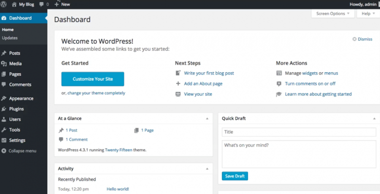 Selamat Datang Ke WordPress | Ompact.my