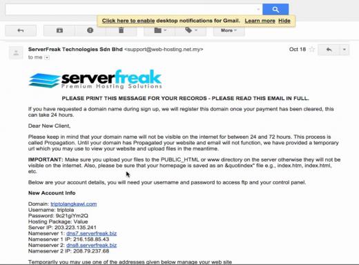e-mel maklum balas | Ompact.my