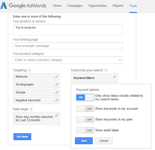 google adwords Ompact.my