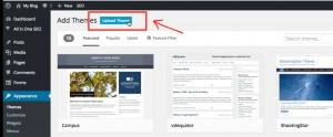 klik upload theme | Ompact.my