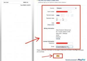 Maklumat Pembayaran | Ompact.my